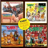 Kabát - Original albums Vol.1 (4CD)