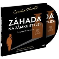 Agatha Christie - Záhada na zámku styles - první příběh H. Poirota (MP3-CD)