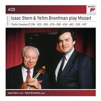 Isaac Stern - Stern and Bronfman Play Violin Concertos (4CD)