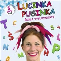 Lucinka Pusinka - Škola výslovnosti 1, 2, 3 (3 DVD SET)
