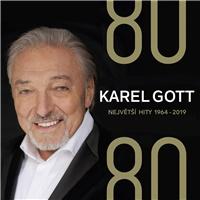 Karel Gott - 80/ 80 Největší hity 1964–2019 (4CD)