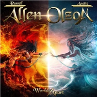 Allen Russell, Anette Olzon - Worlds Apart