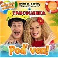 Smejko a tanculienka - Poď von! (DVD)