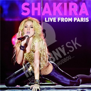 Shakira - Live from Paris (Deluxe CD+DVD) od 15,99 €