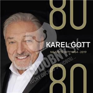 Karel Gott - 80/ 80 Největší hity 1964–2019 (4CD) od 19,57 €